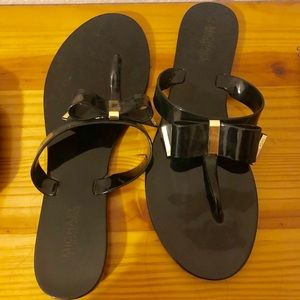 Michael Kors Fancy Flip Flops SIZE 10